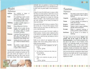 Healthand function2